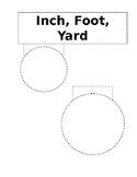 Inch, Foot, Yard Foldable