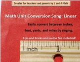Math Unit Conversion Song:  Linear