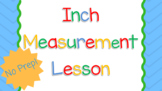 Inch Measurement Lesson