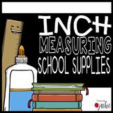 Inch Measurement Task Cards