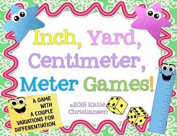 Inch, Yard, Centimeter, Meter Games