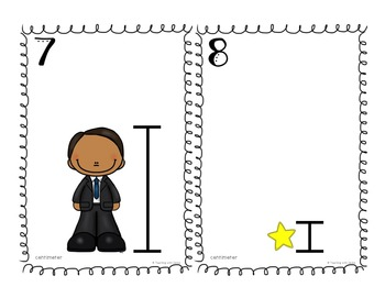 Inch and Centimeter Measurement Task Cards