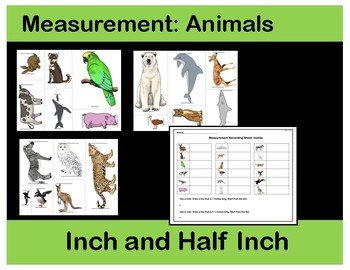 Inch and Half-Inch: Measurement Animals