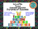 Character Education Inch and Miles Pyramid of Success Book