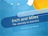 Inch and Miles: The Journey to Success Powerpoint