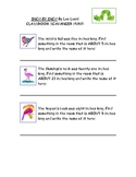 Inch by Inch Classroom Scavenger Hunt