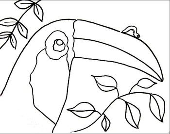 Inch by Inch Coloring Sheets by A Space to Create Art | TpT