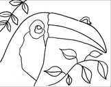 Inch by Inch Coloring Sheets