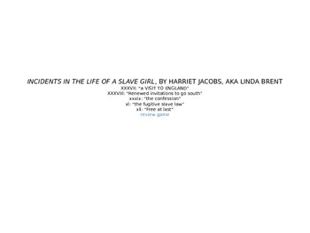 Incidents in the Life of a Slave Girl: Chapters 37 - 41  R