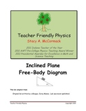 Inclined Plane Free Body Diagram Cut-and-Paste