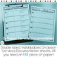 Editable Inclusion Documentation Forms
