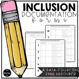 Inclusion Documentation Forms {EDITABLE}
