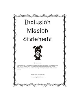 Inclusion Mission Statement