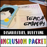Inclusion Packet, Grades 3-12