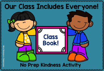 Inclusion Writing Activity - Asking Others to Play - Class Book Template