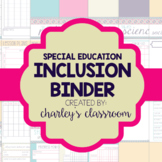 Inclusion/Co-Teaching Binder (Aztec Prints) | Special Education