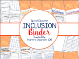Inclusion/Co-Teaching Binder (Notes & Scribbles)