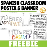 Inclusive Classroom Poster Set FREEBIE