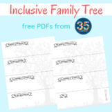Inclusive Family Tree Templates - 12 Days of Freebies - #10