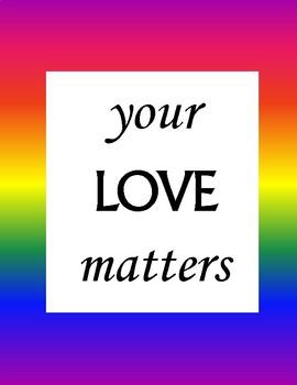 Inclusive Posters (LGBTQ+, BLM)