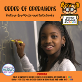 Posters for Order of Operations PEMDAS