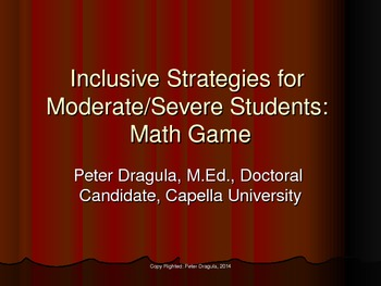 Inclusive Strategies for Moderate/Severe Students: Interac