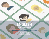 Inclusive and Diverse Feelings Flash Cards, Emotions Activ