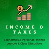 Income and Taxes Economics PowerPoint Lecture