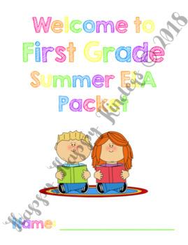 Incoming 1st Grade Summer ELA Packet
