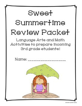 Incoming Third Grade Summer Review Packet