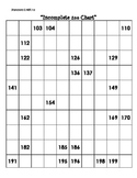 Incomplete 200 Chart Lesson (CCSS aligned)