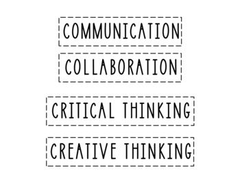 Incorporating The Core Competencies in the Classroom Using Headers