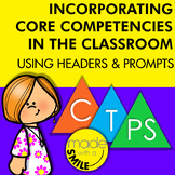 Incorporating The Core Competencies in the Classroom