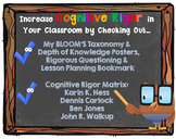 Increase Cognitive Rigor with BLOOM & DOK