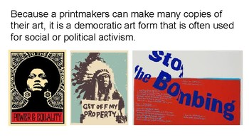 Increase the Peace! Screenprinting and Social Justice Presentation
