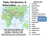 Middle Ages LESSON BUNDLE: Increased Trade, Urbanization, & the Commerical Rev.