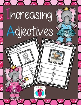 Increasing Adjectives