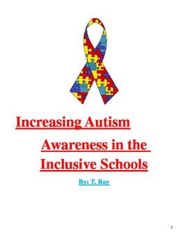 Increasing Autism Awareness in the Inclusive School
