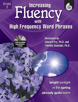 Increasing Fluency with High Frequency Word Phrases Grade 3 (Physical Book)