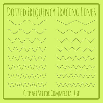 Increasing Frequency Wavey Lines and Zig Zag Lines for Tracing Practice