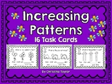 Increasing/Growing Patterns:  Identify the Rule Task Cards