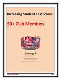 Increasing Student Test Scores:  50+ Club Members