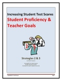 Increasing Student Test Scores: Student Proficiency and Teacher Goals