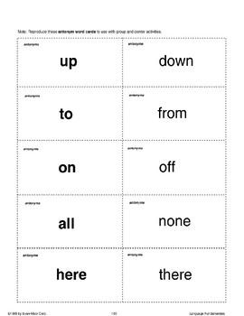 Increasing Vocabulary