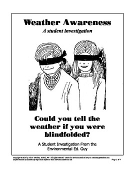 Weather Awareness - A Student Investigation