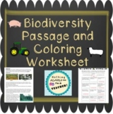 Biodiversity Passage and Increasing and Decreasing Colorin