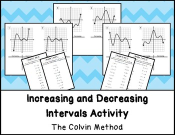 Increasing and Decreasing Intervals Sorting Activity