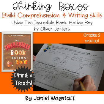 Incredible Book Eating Boy Thinking Boxes for Comprehension & Writing Gr 2 & up