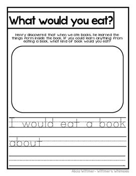 Incredible Book Eating Boy- Supplemental Pack