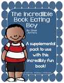 Incredible Book Eating Boy- Supplemental Pack